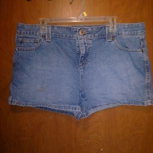 Tommy Hilfiger denim short shorts size 16